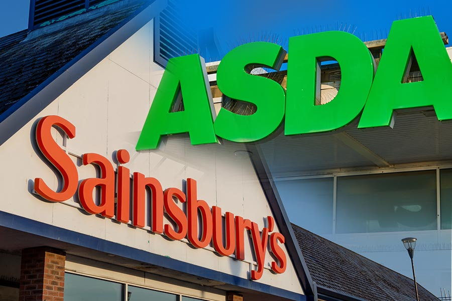 "Regulator blocks ""competition reducing"" Sainsbury's-Asda merger"