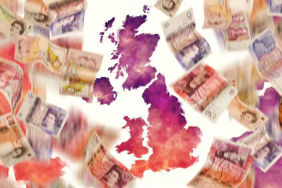 UK locations offering biggest pay boosts