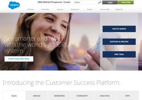 New Director, Recruitment EMEA at Salesforce