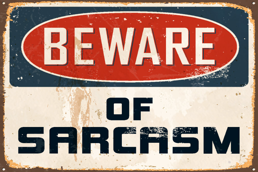 Should you tell candidates to tone down the sarcasm?