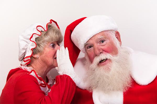 Outrage at Mrs Claus job ad paying half Santa wage