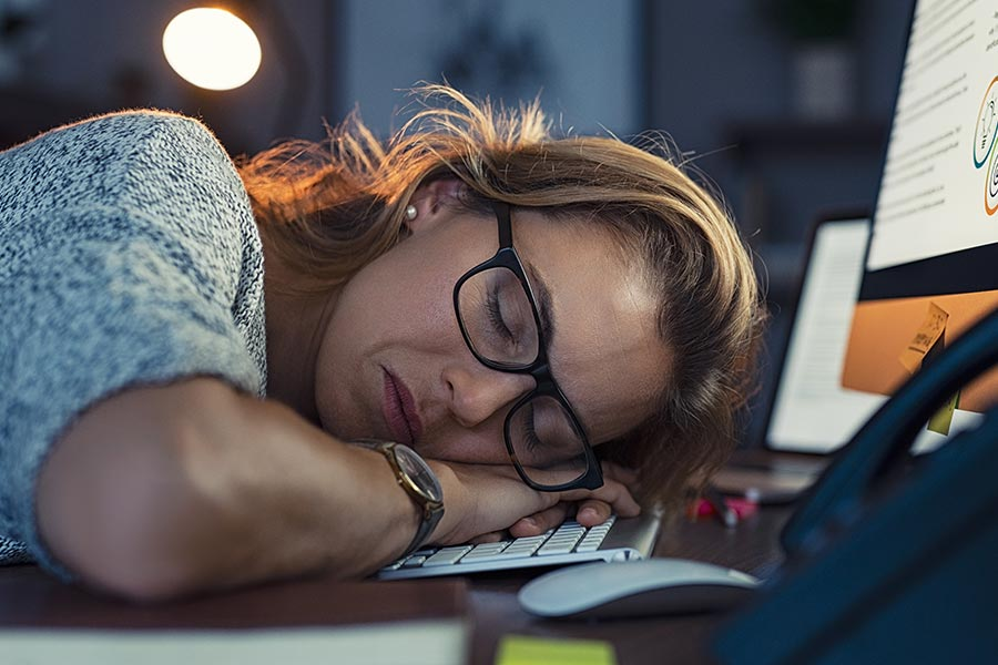 Three signs that you're overworked
