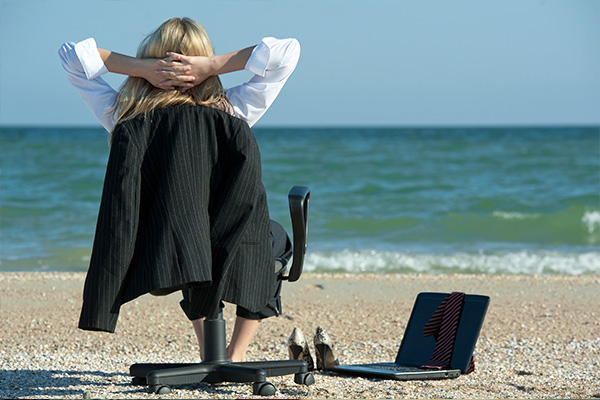 Talented workers went on holiday instead of looking for jobs