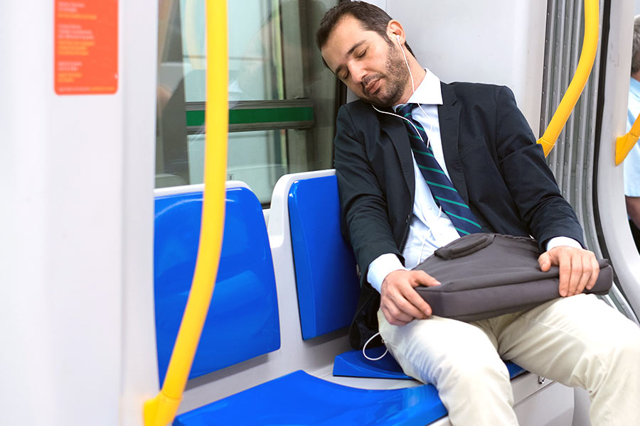 The UK's most sleep deprived commuters revealed