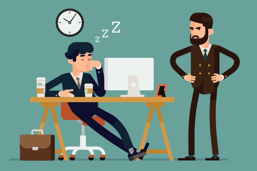 Sleep loss sparks arguments & 'loss of control' at work