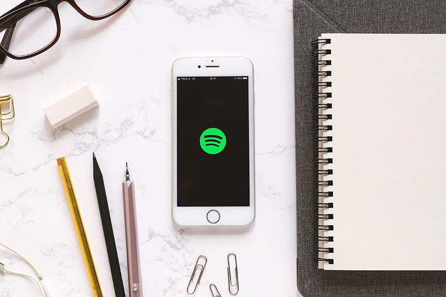 What impact is Spotify having on your business's productivity?