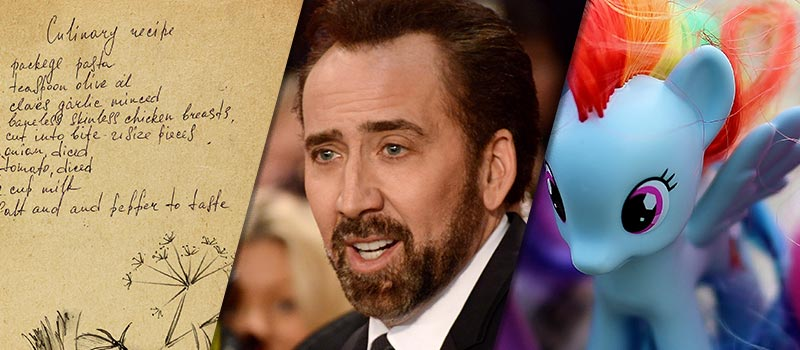 Nicolas Cage, beef stew & thieves: 7 funniest CV mistakes