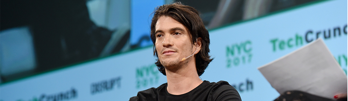 WeWork ditches controversial CEO