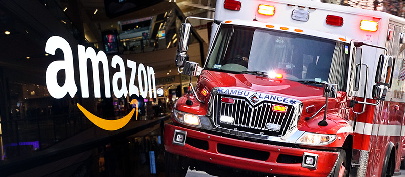 Amazon robot worker hospitalises colleagues in bear spray incident