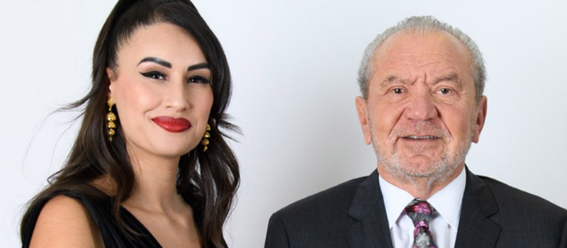 Ex- Apprentice star joins forces with Lord Sugar