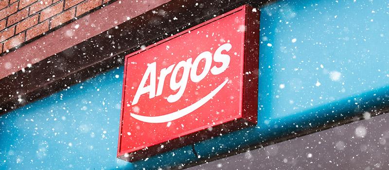 Argos boss slashed festive employee bonus