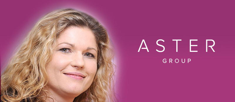 5 minutes with: Rachel Credidio of Aster Group UK