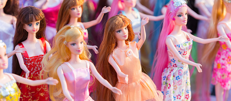 Barbie dolls to tackle workplace inequality