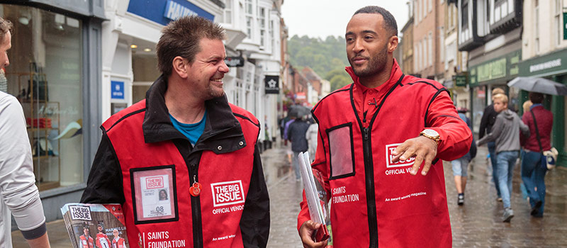 Big Issue turn recruiters aiming to get ex-addicts into work