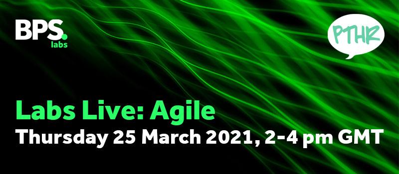 Agile - Thursday 25th March, 2-4 pm GMT