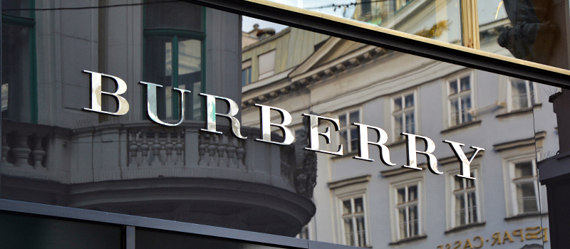 How Burberry is marking IWD