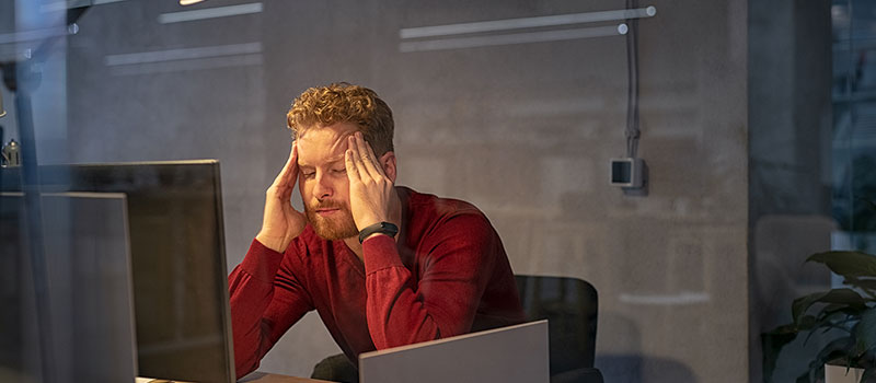 Burnout is on the rise, new data finds