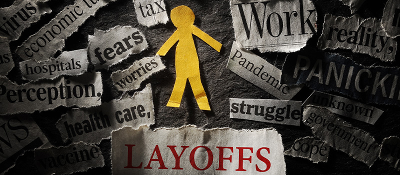Business suffers 10,000 lay-offs on 'Black Monday'