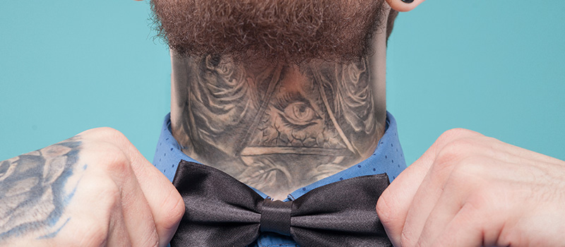 Candidate rejected by 30 firms for tattoo dedicated to grandfather
