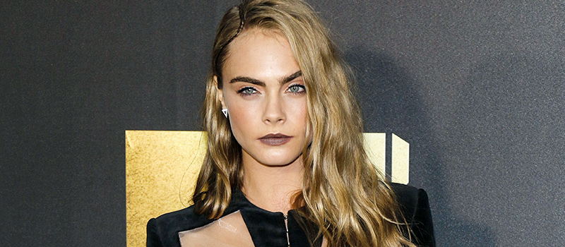 Cara Delevingne told to 'get beard' for career gain