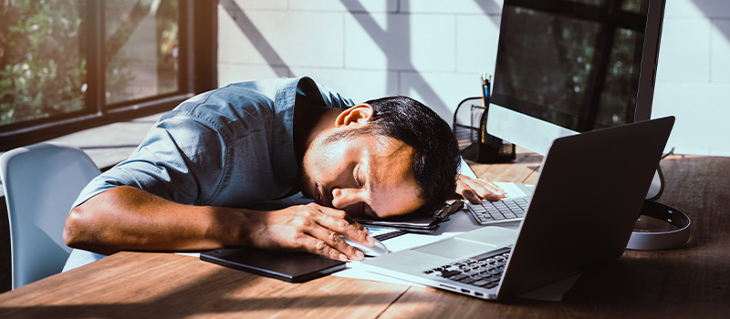 'Corona-tiredness' drives 1 in 4 to do THIS while WFH