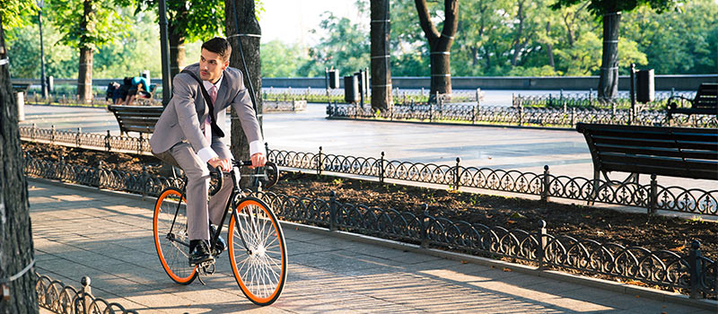 9 reasons why you should cycle to work today