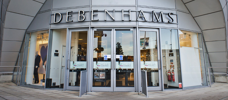 Struggling Debenhams to remove a layer of management