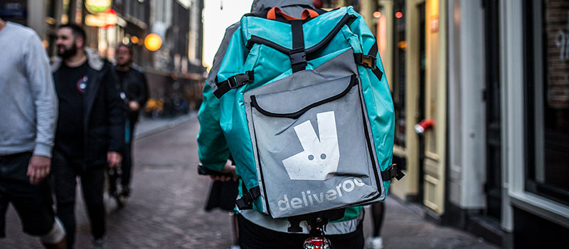 Deliveroo value 'PLUMMETS' after worker rights concerns