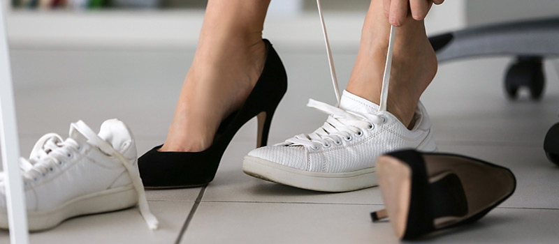 Dr Employer: The danger of wearing high heels at work