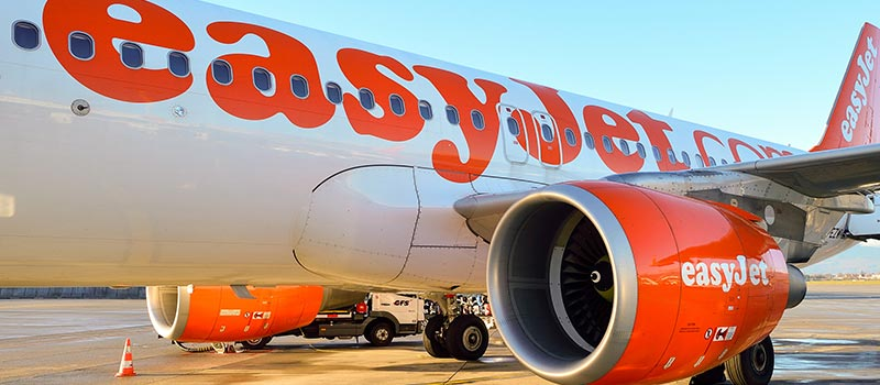 EasyJet passenger holding baby punched by airport worker