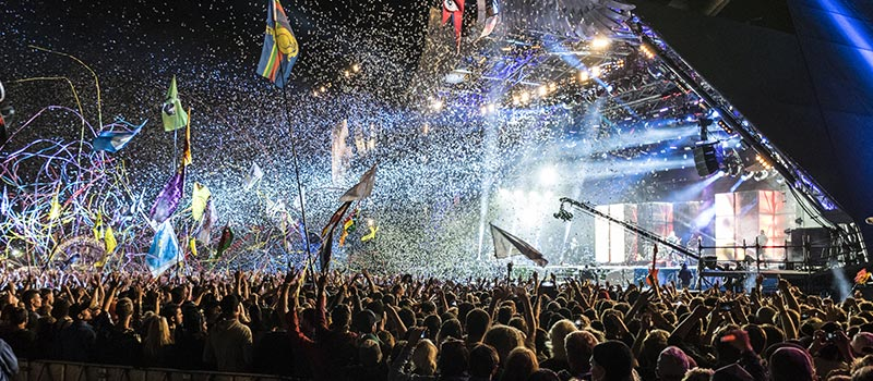 Glastonbury organiser says men refuse to deal with her