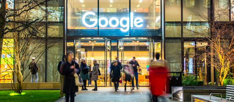 Google repays male employees after finding a pay gap that favours women
