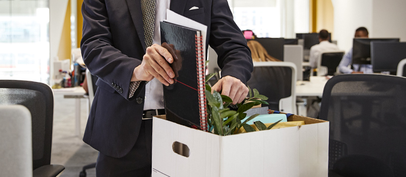 How many UK jobs were lost to business administration in 2019?