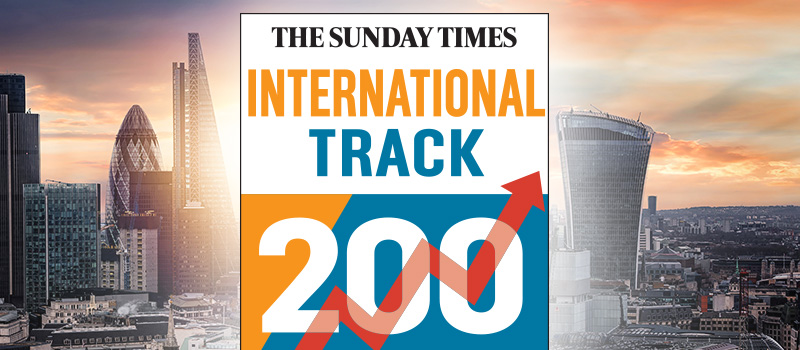 Recruiters named in Sunday Times HSBC International Track 200