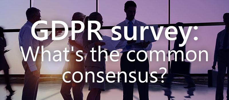 Invenias GDPR survey write-up: What's the common consensus?