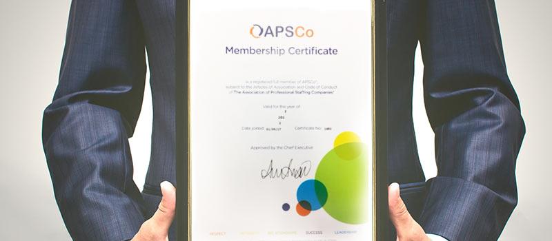 'Del boy' Apprentice winner finally receives APSCo accreditation