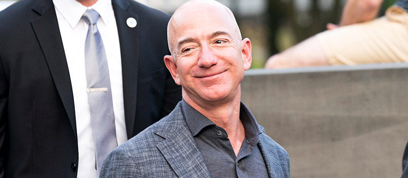 How Jeff Bezos made £10bn in 24 hours