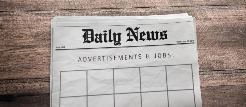 Job vacancies down by over 10%