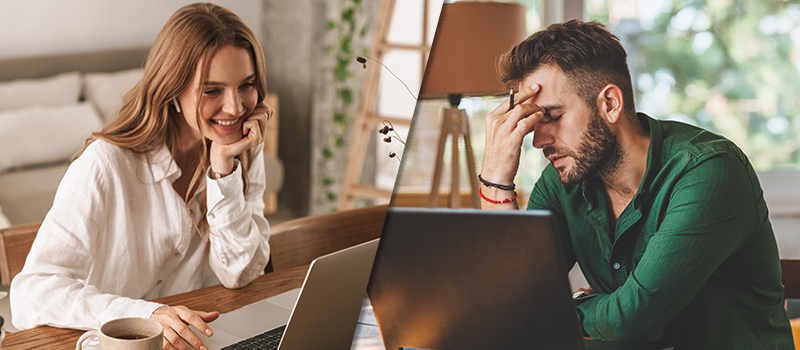 Why staff have a 'love-hate' relationship with remote working