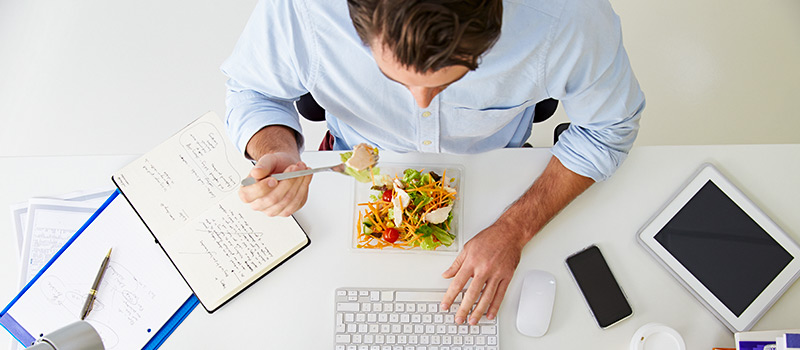 REVEALED: Half of UK employees without dedicated lunch space