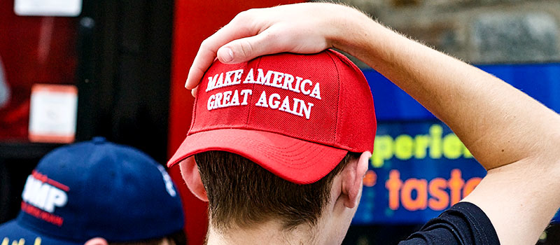 Restaurant manager sacked for refusing to serve man in Trump hat