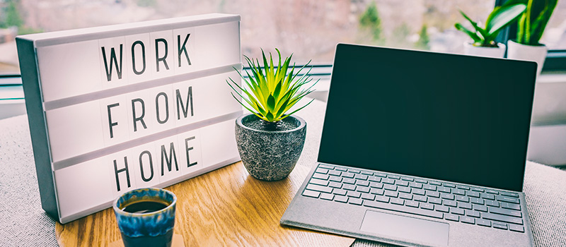 How to be noticed whilst working from home