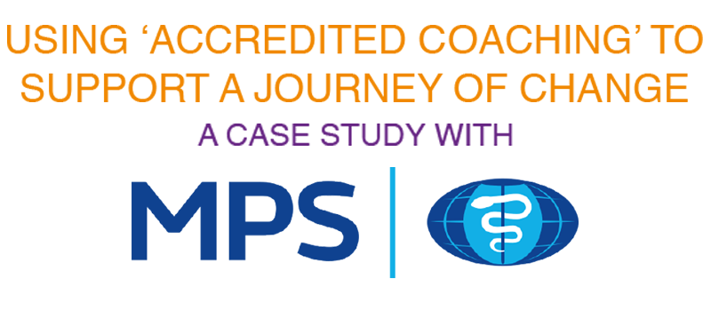 Using 'Accredited Coaching' To Support A Journey Of Change - A Case Study With MPS