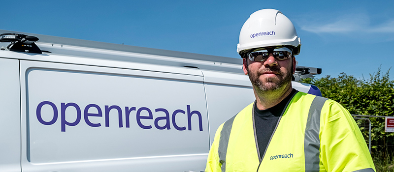 Openreach shortlisted for Ex Forces in Business Awards
