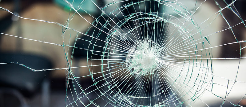 Verdict announced for man who smashed rec agency window