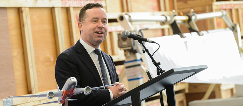 Qantas boss celebrated for LGBT stance