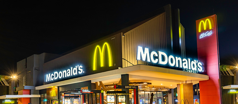Did McDonald's show religious intolerance in this hiring incident?
