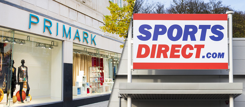 WAGE RAGE: Primark and Sports Direct shamed for underpaying staff