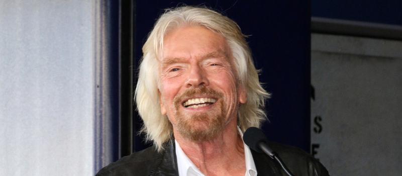 Richard Branson shares his secret for success