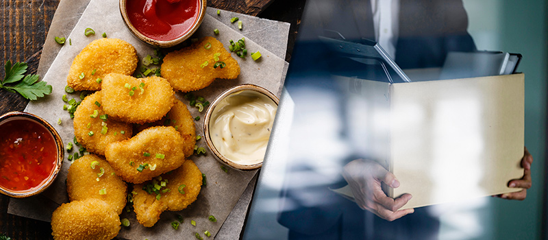 HR worker sacked after kicking off over his chicken nugget lunch